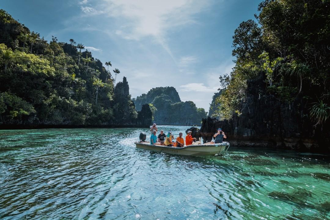 Ilike liveaboard cruise from Raja Ampat to Triton Bay - Piyenemo Lagoon