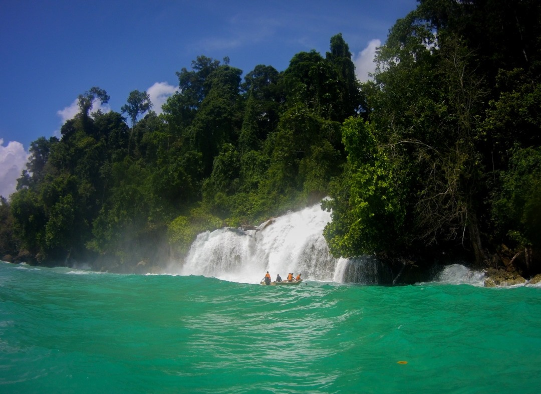 Ilike liveaboard to Kaimana - Momon watera - Momon waterfall