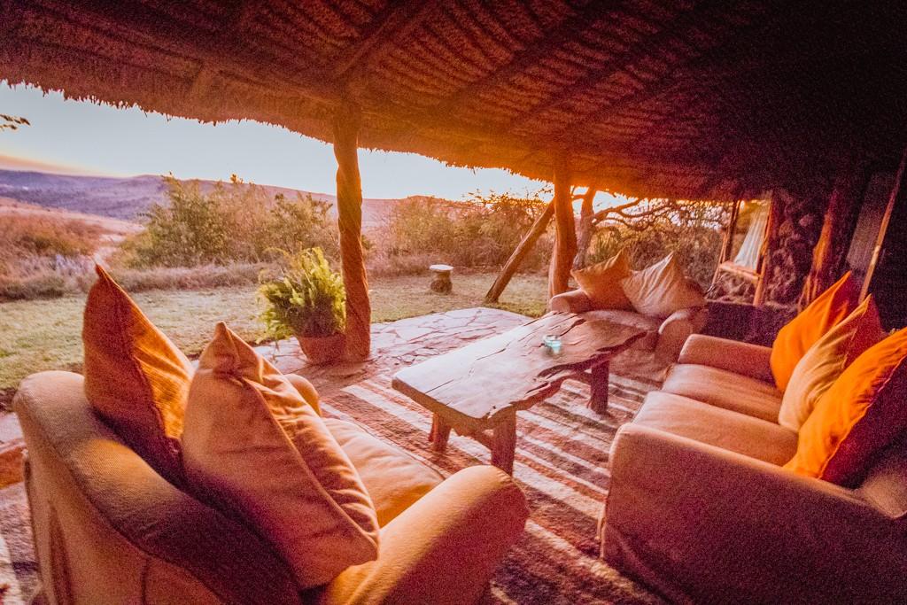 Lewa house review veranda