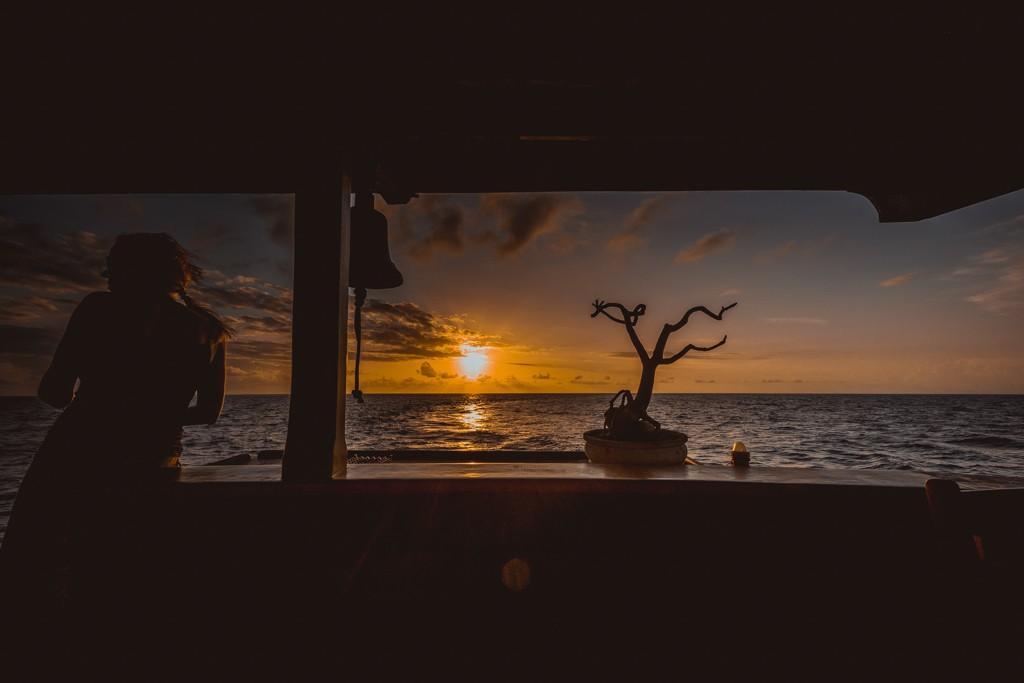 Ilike liveaboard banda island sunset