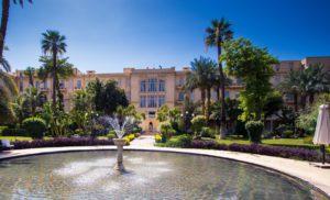 Sofitel winter palace Luxor review garden