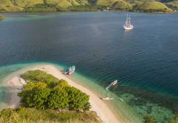 komodo cruise view